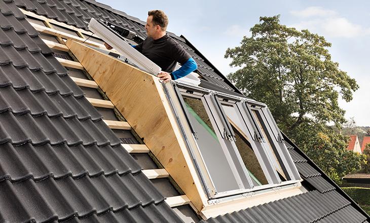 Velux kompletta takfönster